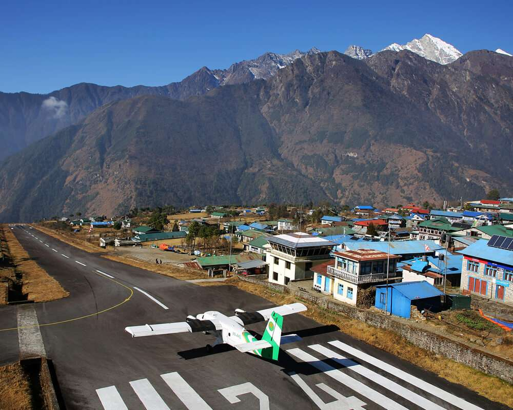 Lukla Airport, Everest Region, Nepal