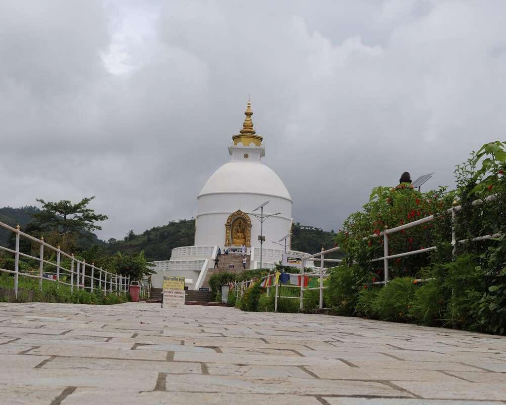 Shanti Peace Stupa