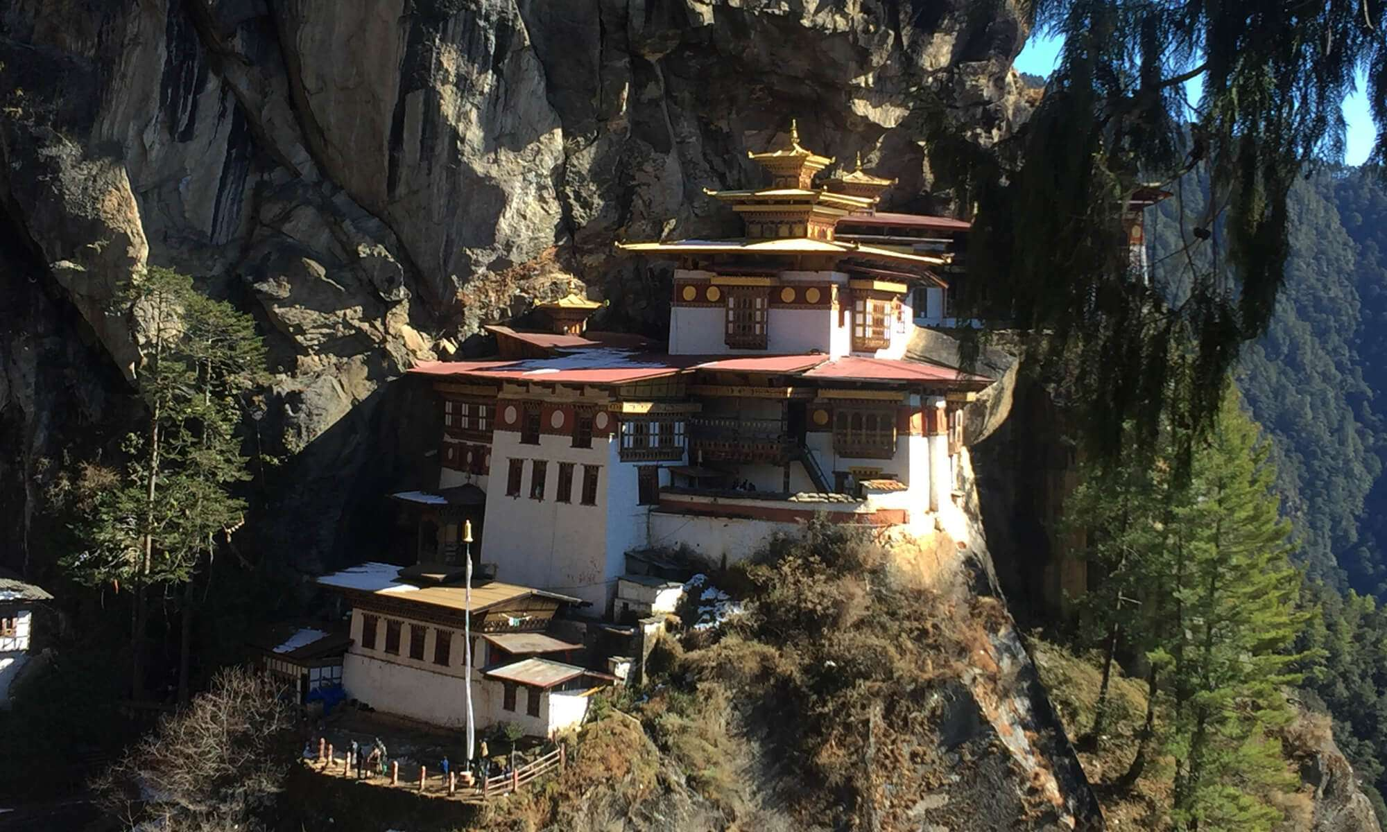 Tigernest Monastery in Paro