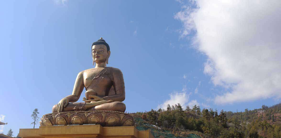 Big Buddha Statue in Bhutan