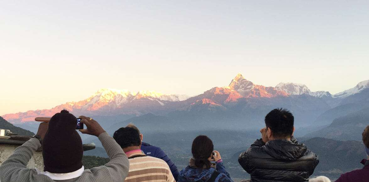 Himalayan View from Poon Hill